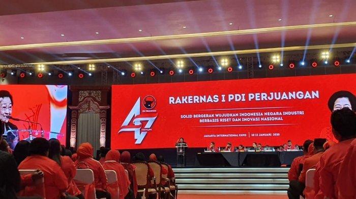 Rakernas PDIP di JiExpo Kemayoran
