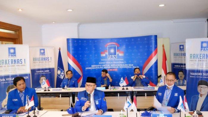 Hasil Rakernas II, PAN Putuskan Masuk Koalisi Pemerintahan Jokowi