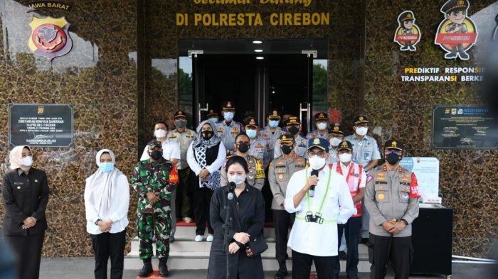 Ketua DPR, Menhub, dan Kakorlantas Gelar Rakor Pengamanan Operasi Ketupat 2021 di Cirebon