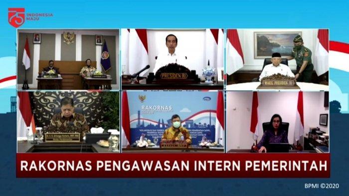 Jokowi Buka Rakornas Pengawasan Intern Pemerintah Tahun 2020