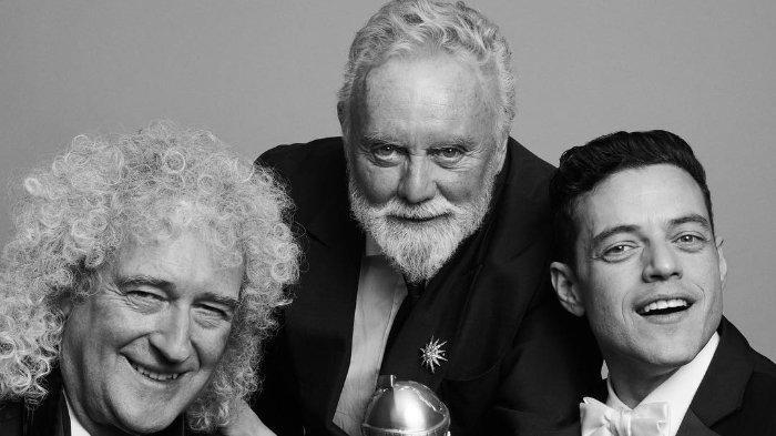 Rami Malek Dedikasikan Piala Golden Globes 2019 untuk Freddie Mercury: Ini Untukmu, Cantik
