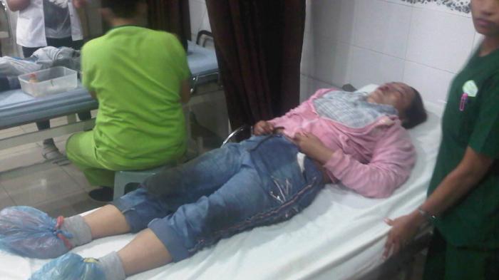 Pedagang Pasar Petisah Bersimbah Darah Dirampok Dua Pemuda
