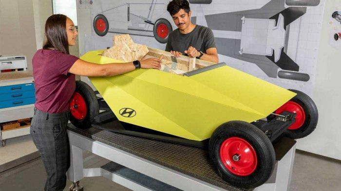 Hyundai Bikin Mobil Do It Yourself yang Bisa Dibangun di Rumah