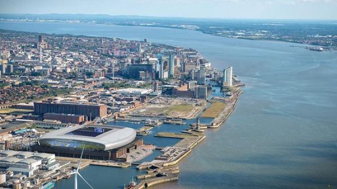 Disetujui Dewan Kota Liverpool, Everton Segera Bangun Stadion Megah di Tepi Laut