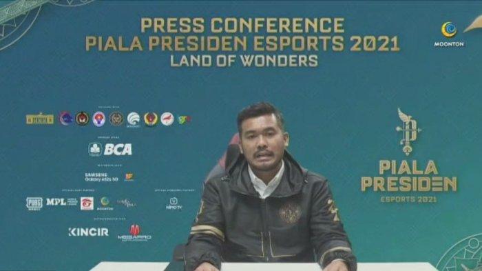 Rangga Danu Prasetyo: Piala Presiden Esports 2021 Pertandingkan Enam Cabang Game