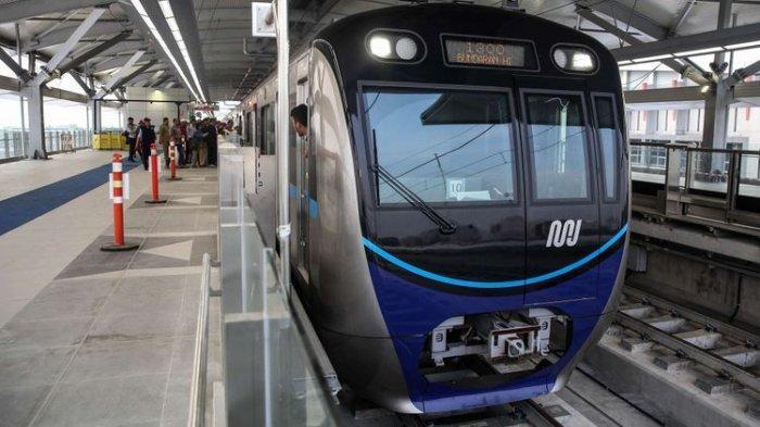 5 Fakta MRT Jakarta Sudah Mulai Beroperasi, Begini Larangan dan Aturan yang Harus Dipatuhi