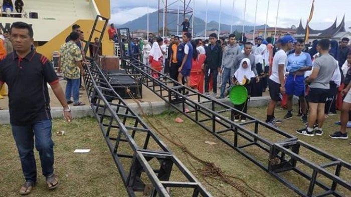 5 Korban Tertimpa Sound System, Kapolsek Padang Panjang: Anak-anak Ini Akan Menari Massal Besok