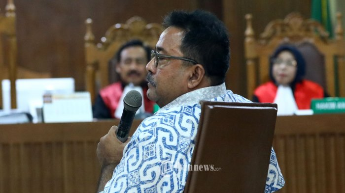 Majelis Hakim Ingatkan Rano Karno: ''Saudara Jangan Berbohong, Sudah Disumpah, ada Ancaman Pidana''