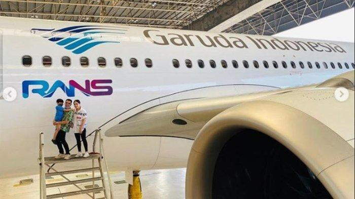 Logo Rans Entertainment di Lambung Pesawat Garuda, Ini Reaksi Baim Wong, Sule, hingga Andre Taulany