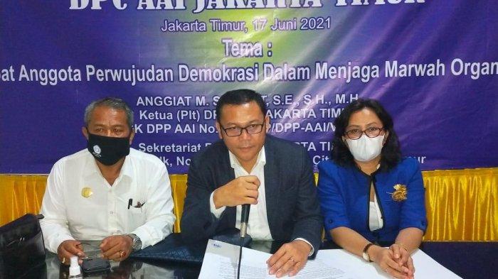 RAC DPC AAI Jakarta Timur Tegaskan Muscablub di Hotel 678 Inkonstitusional