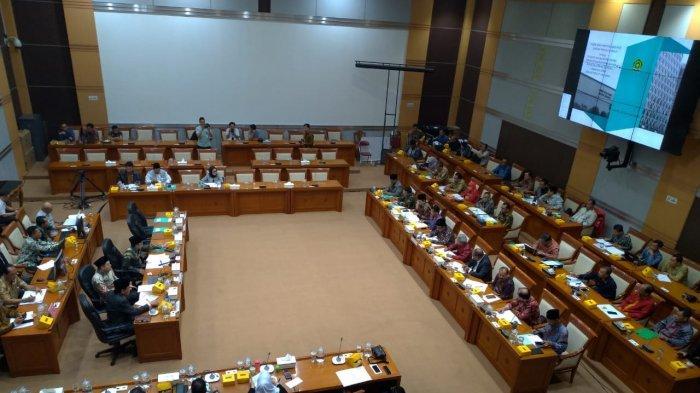 Rapat kerja Komisi VIII DPR dengan Menteri Agama Fachrul Razi, Rabu (26/2/2020).