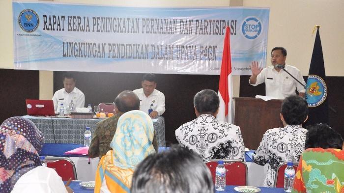Cegah Bahaya Narkoba di Kalangan Pelajar, BNN Gandeng Penggiat Pendidikan Kabupaten Kuningan