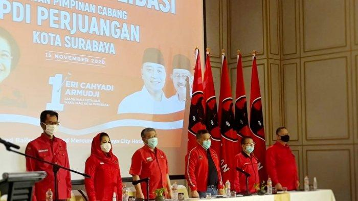 Puti Guntur Soekarno Ajak Door to Door Menangkan Eri-Armudji