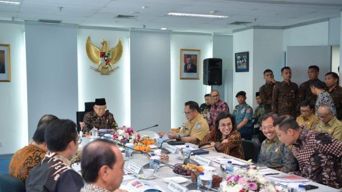 Wapres Maruf Amin Pimpin Rapat Pleno TNP2K, Bahas Target Penurunan Kemiskinan