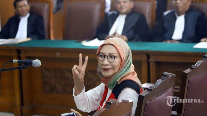 Ratna Sarumpaet menjalani sidang perdana di Pengadilan Negeri (PN) Jakarta Selatan, Kamis (28/2/2019).