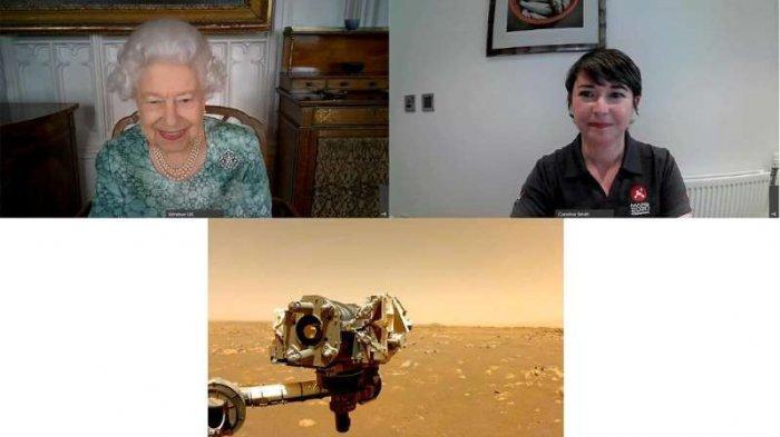 Ratu Elizabeth ambil bagian dalam pameran sains virtual