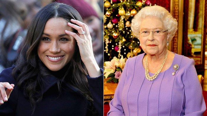 Ratu Elizabeth II dan Meghan Markle