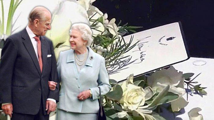 Ratu Elizabeth Ucapkan Selamat Tinggal pada Pangeran Philip, Sebuah Catatan Diselipkan di Peti Mati