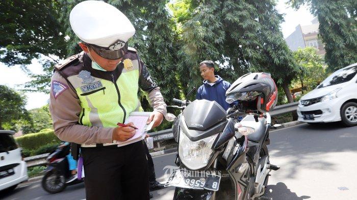 72.389 Kendaraan Terjaring Razia dalam 14 Hari Operasi Keselamatan Jaya