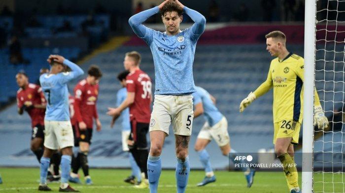HASIL Liga Inggris - 23 Upaya Man City Sia-sia, Man United Hentikan 21 Tren Kemenangan Guardiola