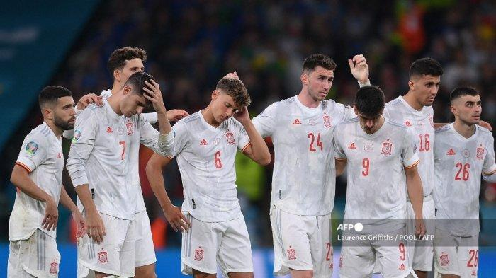 Euro 2021 - Spanyol Tersingkir dari Italia, Gerard Pique ...