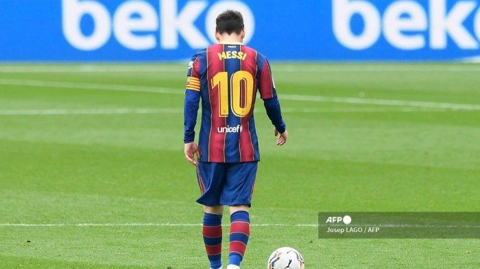 Lautaro Martinez Bakal Kenakan Nomor 10 Lionel Messi di Barcelona?