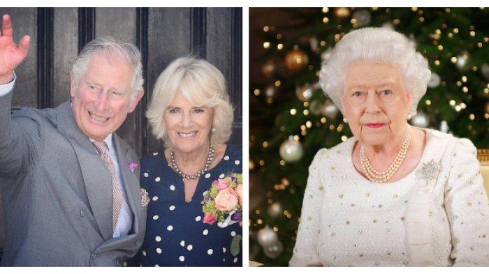 Reaksi Ratu Elizabeth II (kanan) saat tahu Pangeran Charles dan Camilla (kiri) menjalin hubungan