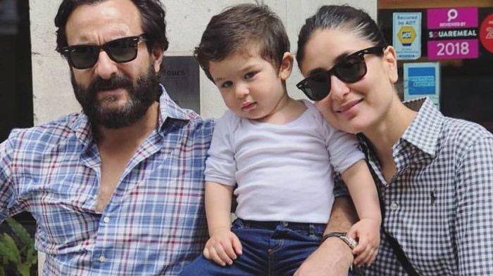Saif Ali Khan dan Kareena Kapoor Senang Sambut Anak Kedua