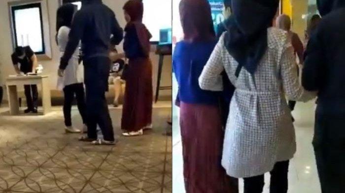 VIDEO VIRAL, Reaksi Unik dan Tak Terduga Polwan Pergoki Tunangannya Selingkuh dengan Perempuan Lain