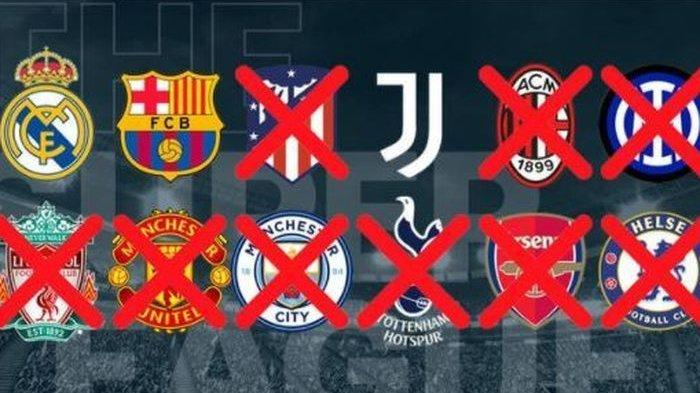 Barcelona, Real Madrid, dan Juventus Ngotot Bentuk European Super League, Ancam Balik UEFA