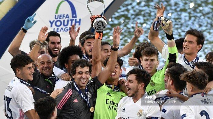 Hasil Final UEFA Youth League Tadi Malam - Tumbangkan Benfica, Real Madrid Juara