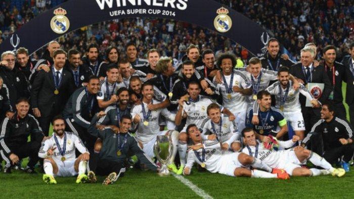 Real Madrid Sisakan Delapan Pemain Lokal Sisanya Impor