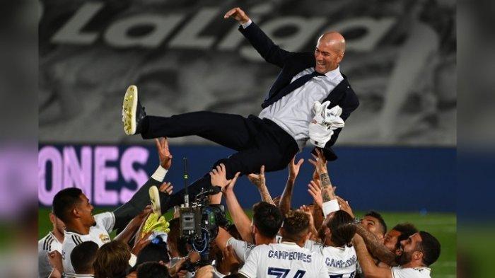 Zinedine Zidane Sosok yang Bisa Bikin Lionel Messi dan Diego Simeone Kalah Telak