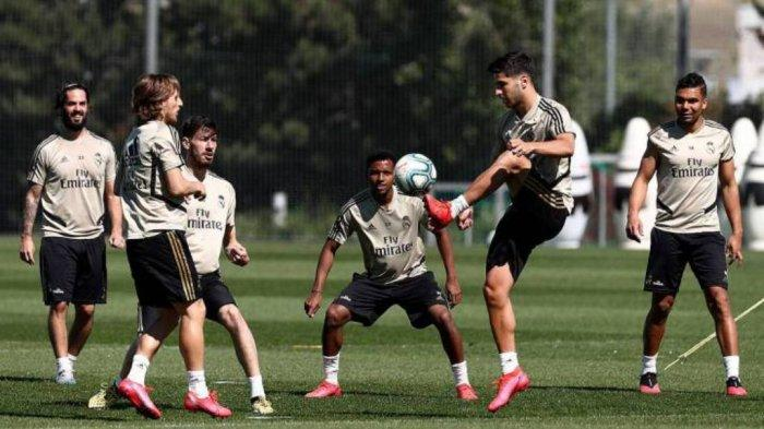 Real Madrid sudah berlatih