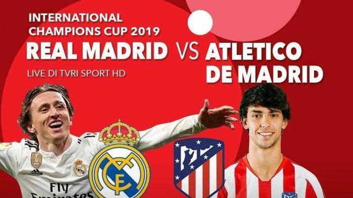 Hasil Real Madrid vs Atletico Madrid: El Real Kebobolan 7 Gol, Diego Costa Quattrick dan Kartu Merah