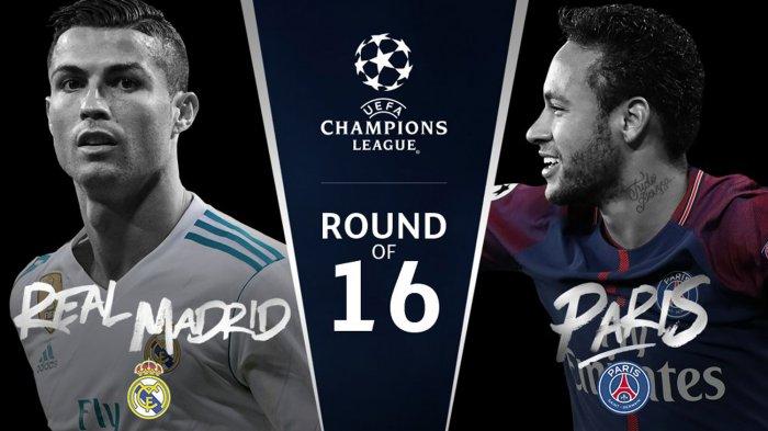 Hasil Undian dan Jadwal Laga Babak 16 Besar Liga Champions: Chelsea vs Barcelona, Real Madrid vs PSG