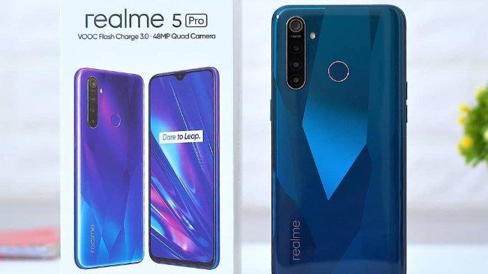 Spesifikasi Dan Harga Realme 5 Pro Harga Mulai Rp 2 Jutaan Tribunnews Com Mobile