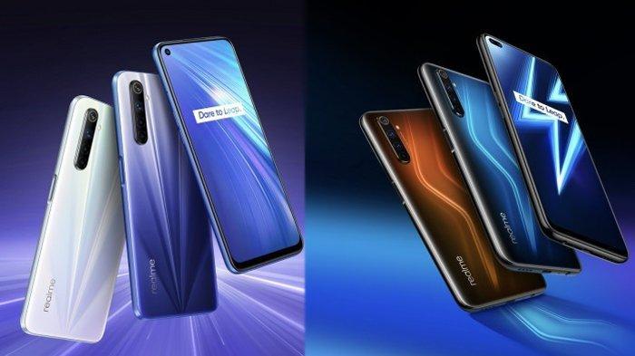 Realme 6 dan Realme 6 Pro (GSMArena)