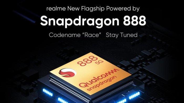 Realme menjadi produsen smartphone pertama yang mengumumkan penggunaan prosesor premium terbaru Snapdragon 888 5G dari Qualcomm Technologies pada smartphone flagship mereka yang akan rilis di Desember 2020 ini.