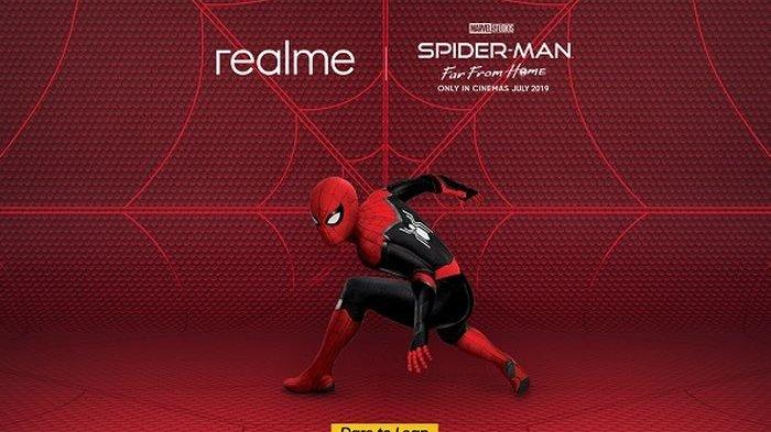 Realme X Spider-Man Far From Home.