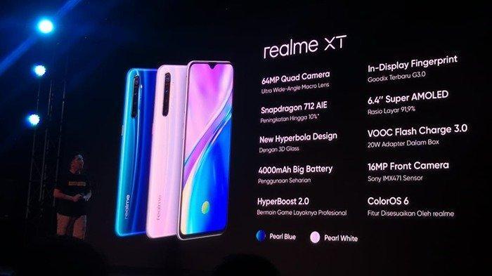 Harga Realme XT, Bakal Saingi Redmi Note 8 Pro?