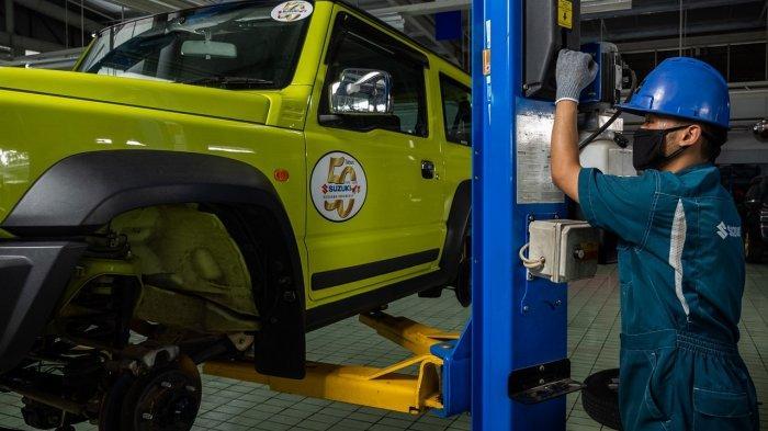 Suzuki Recall 21 Unit Jimny karena Problem di Transmisi Matik: Muncul Rembesan Oli