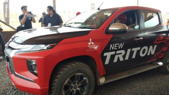 Mitsubishi New Triton Ditargetkan Bisa Terjual 1.000 Unit Per Bulan