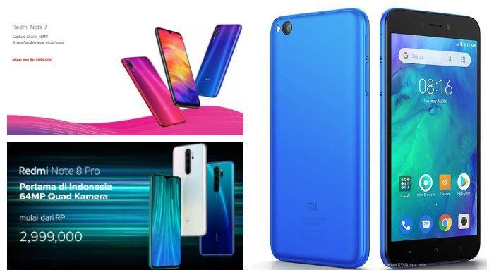 Daftar Harga HP Terbaru Xiaomi Redmi Desember 2019: Redmi Go, Redmi Note 7, hingga Redmi Note 8 Pro.