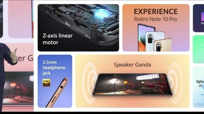 Country Director Xiaomi Indonesia Alvin Tse saat mempresentasikan Redmi Note 10 Series, Selasa (30/1/2021).