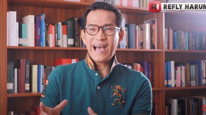 Refly Harun Bantah Buat Pertanyaan Menjebak Kepada Gus Nur