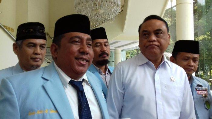 Pengurus BKPRMI Temui Wapres Jusuf Kalla