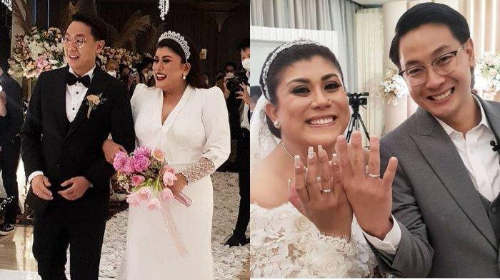 Resmi Menikah, Regina Ivanova Tulis Pesan Cinta untuk Lucky Jayadi: Aku Sangat Bahagia