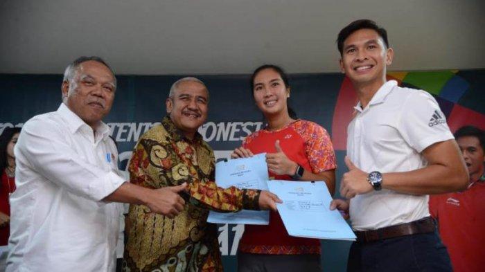 REI dan Pelti Beri Bonus Rumah untuk Atlet Tenis Peraih Emas di Asian Games