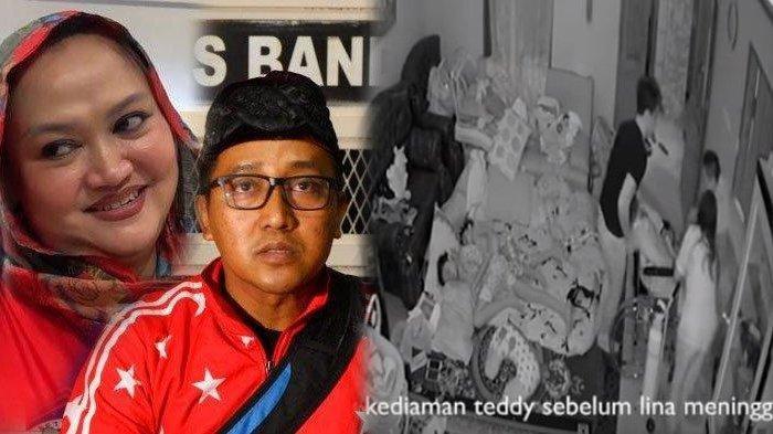 Rekaman CCTV di rumah Teddy sebelum Lina meninggal diungkap